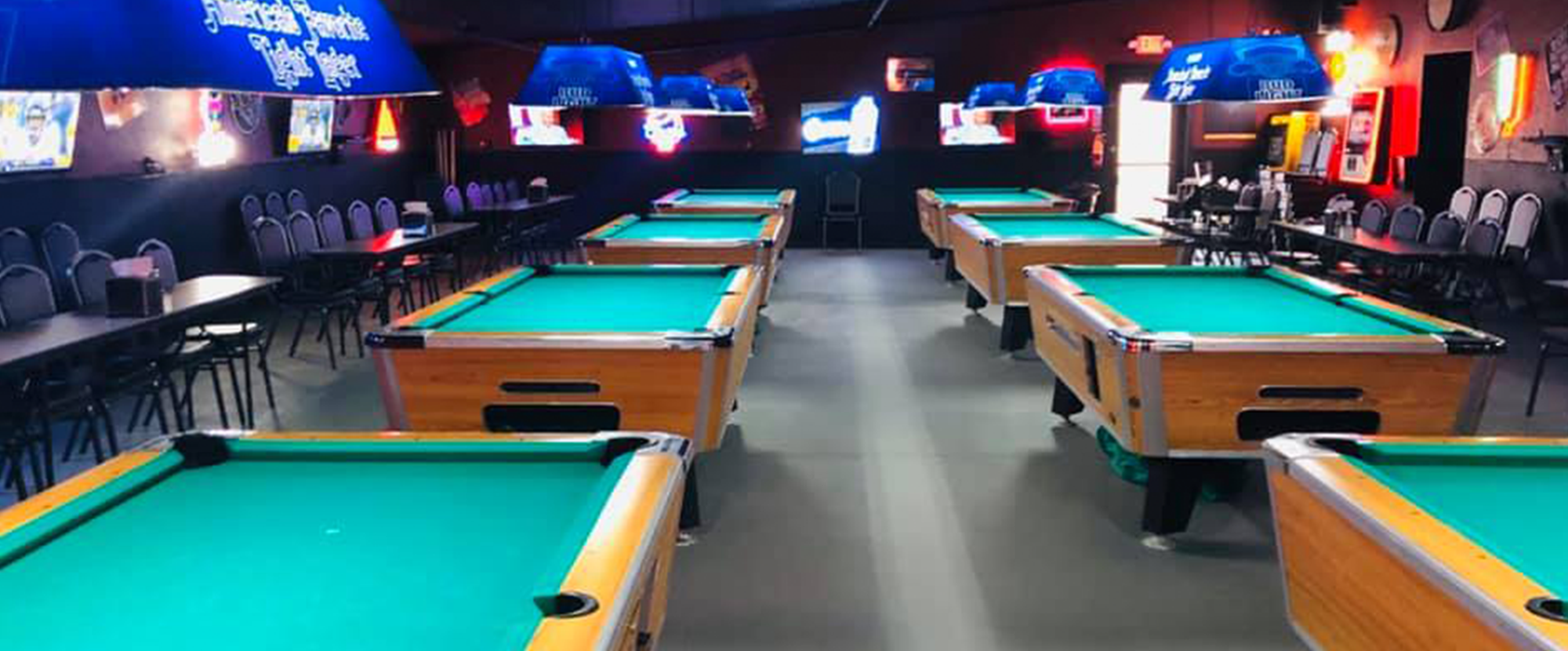 The Fort Saloon's Pool Hall is Now Open!